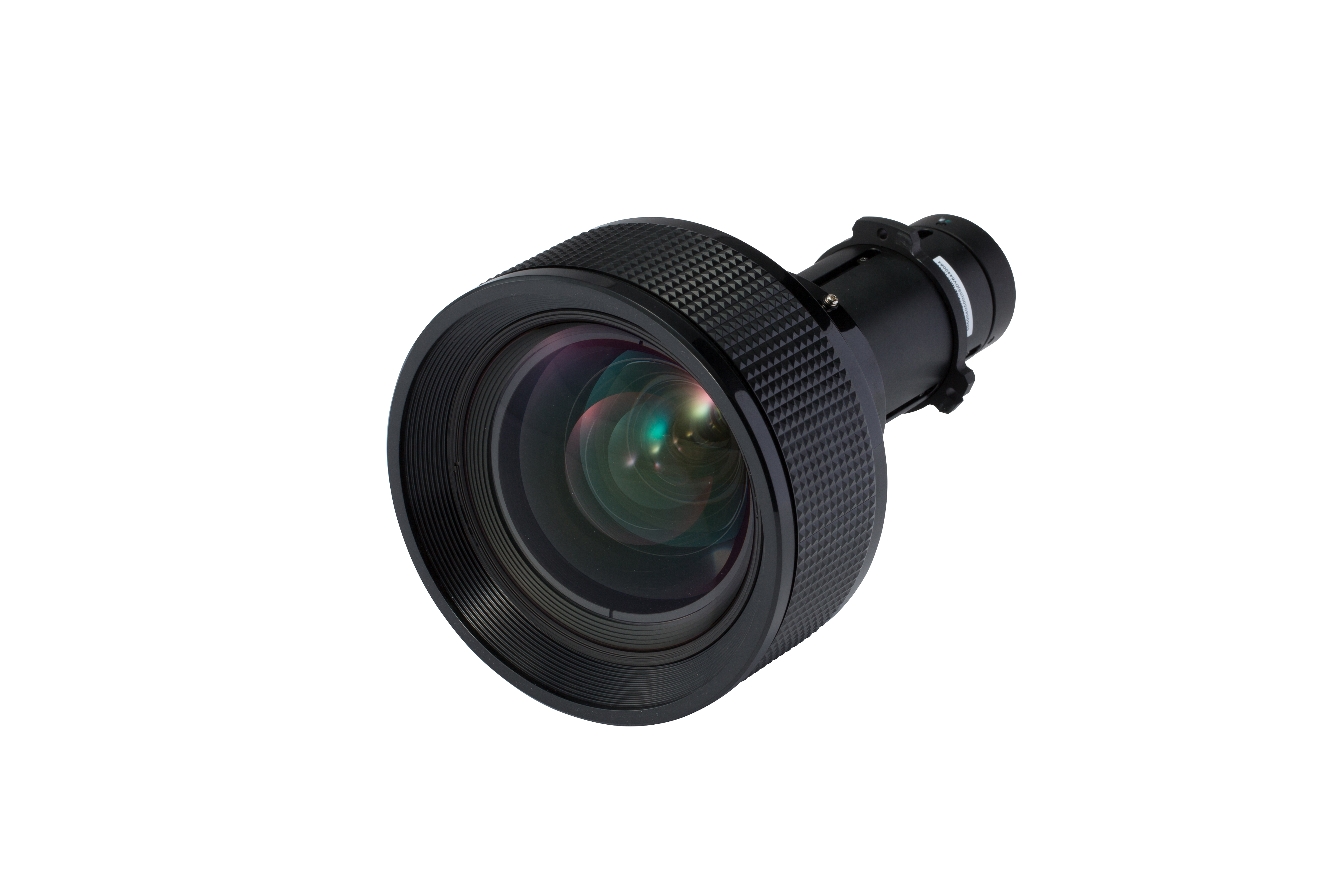 Short throw lens, Zoom x 1.18 Throw Ratio:  1.1 – 1.3
